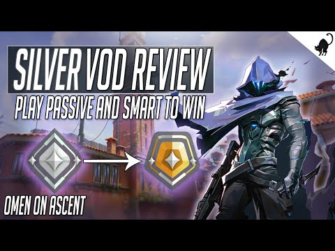 Silver III RANK UP VoD Review - Improving Aggression and Positioning (Omen on Ascent)