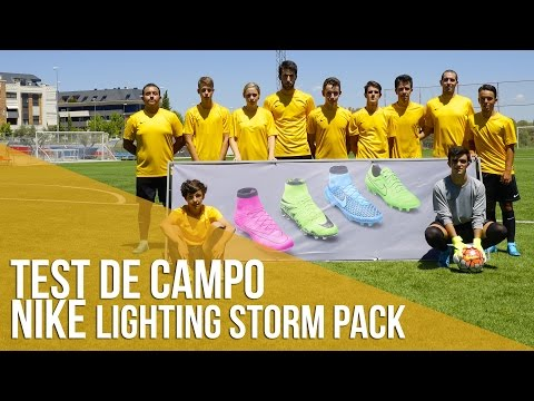 Test De Campo En Madrid: Nike Lighting Storm Pack