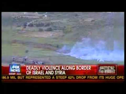 ISRAEL , SYRIA /BORDER BATTLE !
