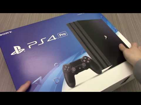 Unboxing Sony Playstation PS4 PRO Black Friday Sale Deal
