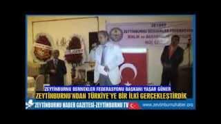 Zeytinburnu Dernekler FederasyonuÖğretmenler Evinde Gece Düzenledi
