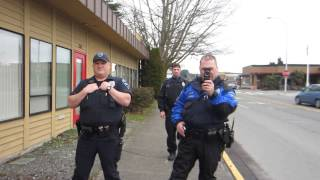 Auburn (WA) United States  city photos : Filming Police. Auburn, WA. (Interaction and Dialogue) (Open Carry) (Public Photography)