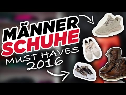 Styling Tipps - Männer Schuhe - MUST HAVES 2016