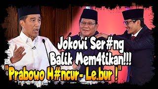 Video Debat : Prabowo Tu duh, Jokowi Ser4ng Balik Mem4tik4n, Prabowo H4ncur  Le bur MP3, 3GP, MP4, WEBM, AVI, FLV Januari 2019
