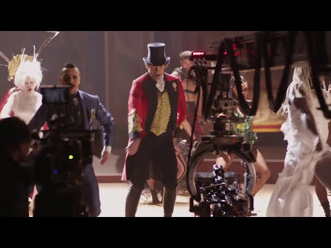 Behind The Scenes On THE GREATEST SHOWMAN + Clips