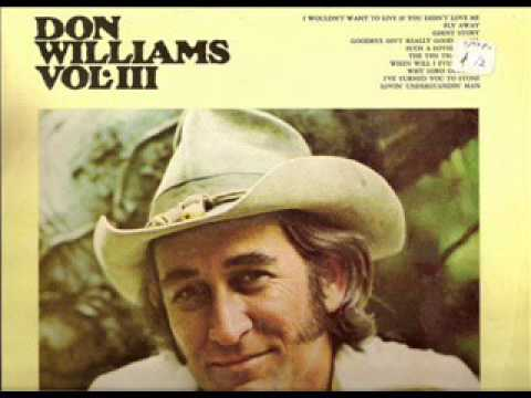 Don Williams ~ The Ties That Bind