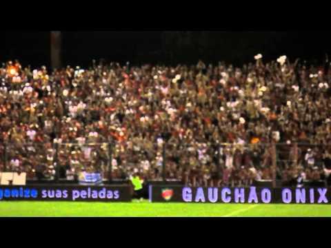 Bandeirão da torcida do Brasil - Xavante - Brasil de Pelotas