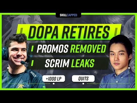 DOPA RETIRES, CHAMPION LEAKS, PROMOS REMOVED AND MORE!