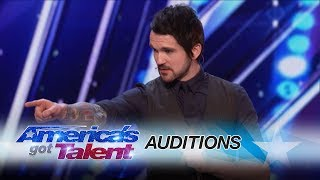 Colin Cloud shares his detective-like secrets on how to read minds. Watch him reveal the Judges' thoughts. » Get The America's Got Talent App: ...