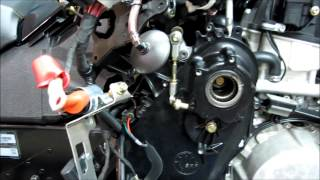 9. BRP Ski-Doo XP XR 1200 chain case oil change