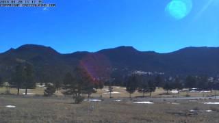 2014-01-20 - Estes Park 18 Hole Golf Course Time-Lapse