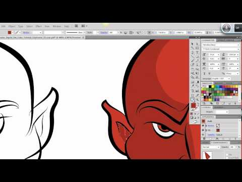 Ultimate Inking And Coloring Tutorial For Adobe Illustrator (short Version)