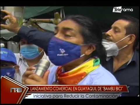 Lanzamiento comercial Guayaquil de Bambu Bici iniciativa para reducir la contaminación