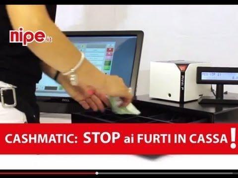 Cashmatic - il registratore di cassa sicuro che rispetta l'HACCP