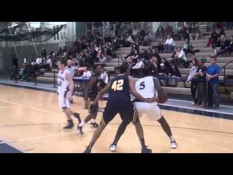 Highlights from men's basketball's win over MCLA, Dec. 5