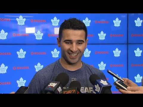 Video: Kadri on ripping Thornton's beard: Thought I was a hockey player, not a barber