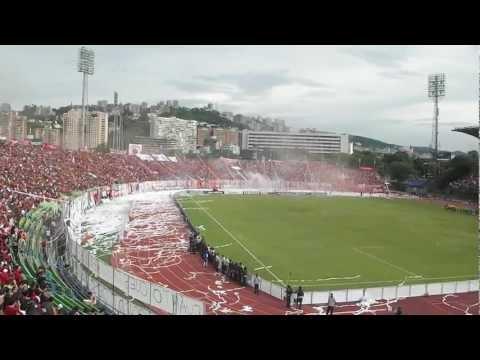 IFO CARACAS FC VS tochira 06-05-2012 - BARRA DE LOS DEMONIOS ROJOS - Los Demonios Rojos - Caracas