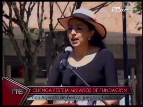 Cuenca festeja 462 años de fundación con agenda de fiestas, juegos y tradición