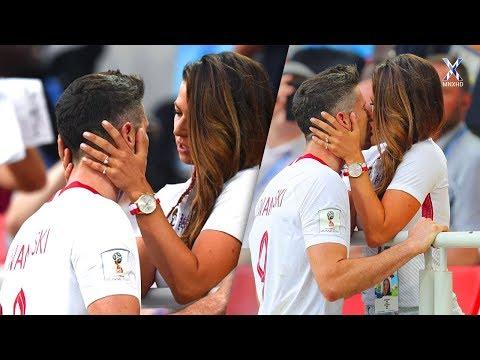 Hottest & Most Beautiful Football Kisses