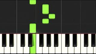 Video Simple and beautiful melody to play on the piano MP3, 3GP, MP4, WEBM, AVI, FLV Juni 2018