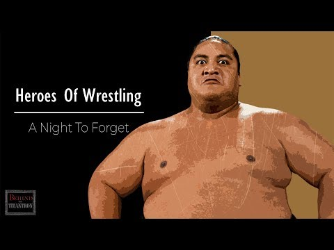 Heroes Of Wrestling - A Night To Forget - Behind The Titantron - Episode 31
