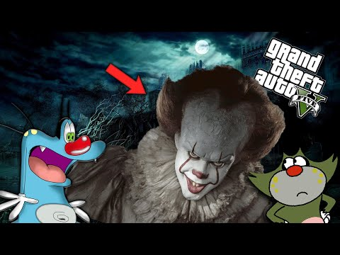 GTA 5 : OGGY Found PENNYWISE in SEWER | GTA 5 PENNYWISE