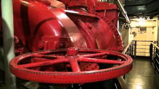 Video RMS Queen Mary Tour in HD (The Engine Room) MP3, 3GP, MP4, WEBM, AVI, FLV Agustus 2018
