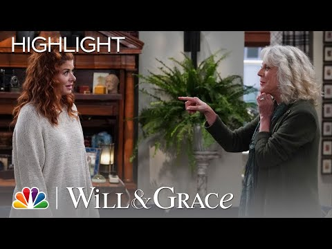 Will and Grace Tell His Mom They're Having Babies - Will & Grace