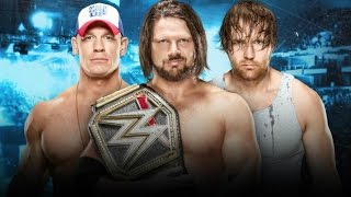 AJ Styles Vs. John Cena Vs. Dean Ambrose | Promo Road To No Mercy | WWE World