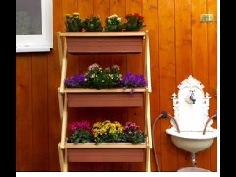 Vertikales Blumenbeet schnell und einfach selbst machen - Vertical Garden quick & easy Diy