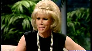 Joan Rivers Can't Stop Laughing Trying to Tell a Joke to Johnny Carson, Apr 1986 Part 4