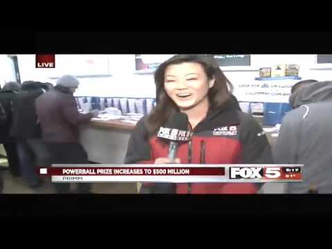 WATCH: Man Answers 'What Would You Do If You Won the Powerball?