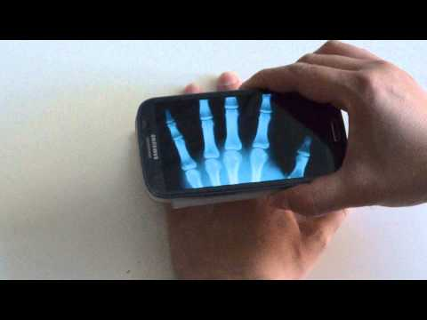 Video of Xray Scanner Prank