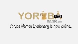 A database of Yoruba names tagged Yoruba Names Dictionary is now live on www.yorubaname.com , courtesy of Kola Tubosun and his team. In this video, Kola Tubo...