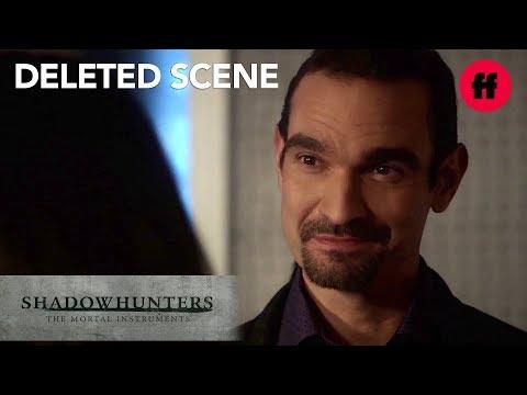 Shadowhunters Season 3, Episode 9   Deleted Scene: Izzy Flirts With Lorenzo   Freeform