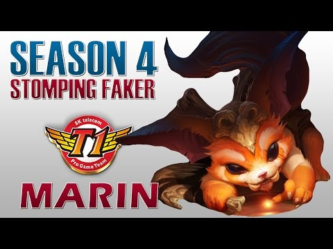 Faker阿卡莉 vs Marin Gnar