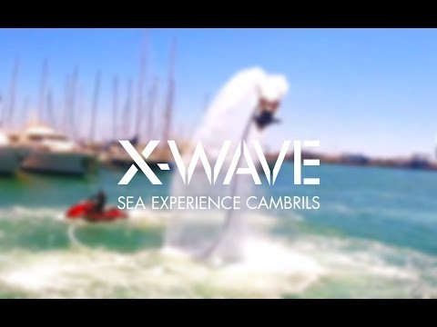 Wave x - X-WAVE Sea Experience Cambrils FLYBOARD DIrected and Produced by Anton Òdena http://antonodena.com/ Camera Assistant: Roger Blasco ( http://erba.cat/ ) Alex ...