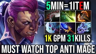 Video MUST WATCH [Anti Mage] 5MINUTES 1ITEM WITH 1kGPM And 31Kills By Cooman 7.19 | Dota 2 FullGame MP3, 3GP, MP4, WEBM, AVI, FLV Desember 2018