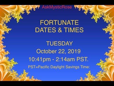 101819 Mystic Rose Fortunate Forecasts & Financial Horoscopes