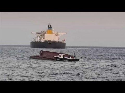 Σύγκρουση ελληνικού τάνκερ με τουρκικό αλιευτικό στα ανοιχτά της Μερσίνης…