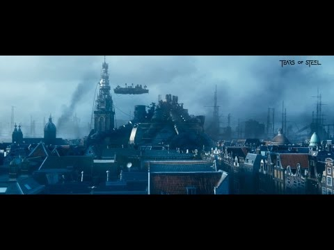 Tears of Steel - sci-fi film in Amsterdam (12:15 min)