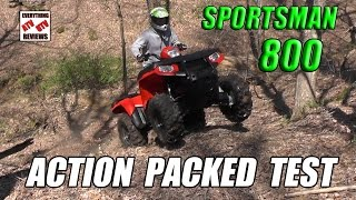 2. POLARIS 800 SPORTSMAN Off-Road Trail Review: Most Under Rated Big Bore ATV?