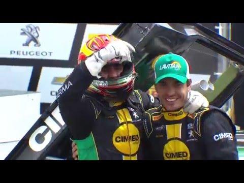 Marcos Gomes e Antonio Pizzonia vencem em Curitiba
