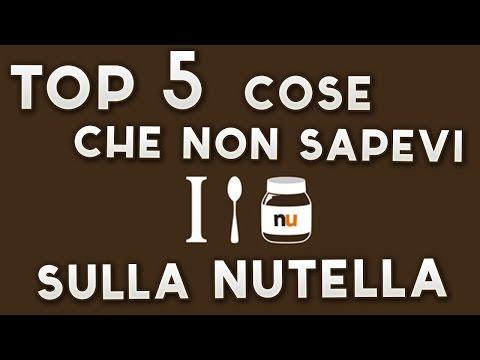 5 cose che non sai sulla nutella!