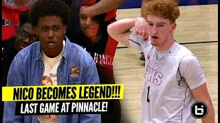 Video Nico Mannion Becomes LEGEND In Final Home Game & Advances To The SHIP! HUGE 35 Point Game! MP3, 3GP, MP4, WEBM, AVI, FLV Februari 2019
