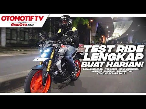 Test Lengkap Yamaha MT-15 Buat Harian | Test Ride Review L GridOto