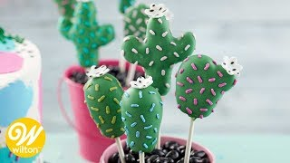 How to Make Cactus Cake Pops | Wilton