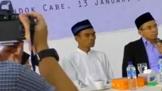 Video Saling sindir guyonan segar ust Abdul Somad bersama Tuan Guru Bajang di OIAA MP3, 3GP, MP4, WEBM, AVI, FLV November 2018