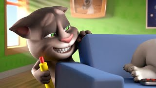 Talking Tom gets naughty and wants to prank Talking Hank. But his crazy plan backfires and strange things start to happen.Subscribe to my YouTube channel: https://www.youtube.com/user/TalkingTomCat?sub_confirmation=1 I'm Talking Tom, and I'm the original talking tomcat. It's great you've stopped by. If there's fun to be had, this cool cat and my friends are probably having all of it! You should definitely check out my shorts, trailers, and gameplay videos featuring me and my friends. Also, keep up to date with my crazy thoughts and ideas via my video blog Talking Tom Brainfarts. You could try looking, but you won't find a funnier guy anywhere else! Stick around!  Don't forget to explore the hilarious world of My Talking Tom. Adopt me as your very own virtual pet, dress me up the latest, greatest, and funniest outfits ever, play some really cool mini games and join in the fun. http://MyTalkingTom.com New videos get uploaded all the time. But while you wait, check out my friends' channels too! Talking Angela and Talking Ginger have some great stuff for you to watch, and you can find even more videos over on the Talking Tom and Friends channel. Stay awesome guys,Tom :) For more fun…▶︎ enjoy our Animated Series on Talking Tom and Friends channel: https://www.youtube.com/TalkingFriends ▶︎ here's the very popular Talking Angela's channel: https://www.youtube.com/TalkingTom ▶︎ don't miss out on Talking Ginger's YouTube channel: https://www.youtube.com/TalkingGinger  Talking Tom is also known as: Sprechender Kater Tom, Tom qui parle,  Tom Falante, Tom el gato parlante, Konuşan Tom, توم المتكلم