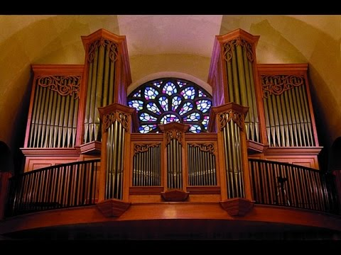 Impresionante: virtuosisimo con la fuga más dificil de Bach para órgano